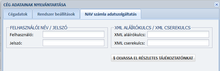 NAV Online Számla Rendszer